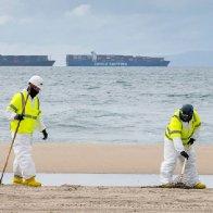1,200-foot ship dragged California oil pipeline, Coast Guard says