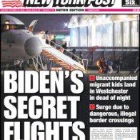 Biden secretly flying underage migrants into NY in dead of night