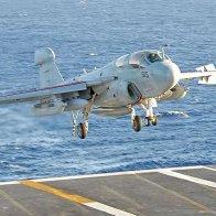 EA-6B on approach