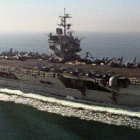 CVN-65, USS Enterprise.  The U.S. Navy's at her best.