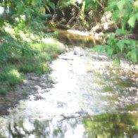 stream from bridge