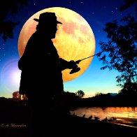 Moonlight Fisherman
