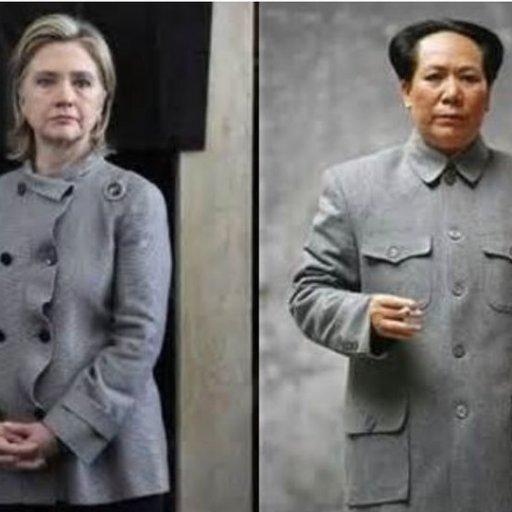 Hillary Clinton and Mao Tse Tung Clothing