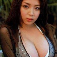 Asian girl with big boobs