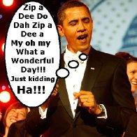 Obama Zip a Dee Doo Dah