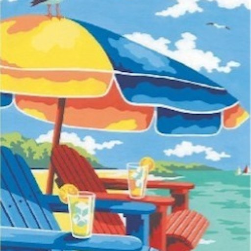 Screengrab-At_the_Beach_(Adirondack_Chairs_&_Umbrella)_Paint_by_Number_(9_x12_)_Dimensions_Paint_by_Number_-_2017-07-09
