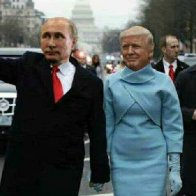Putin Hailing a cab for the Donald