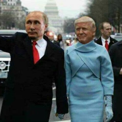 Putin Hailing a cab for the Donald