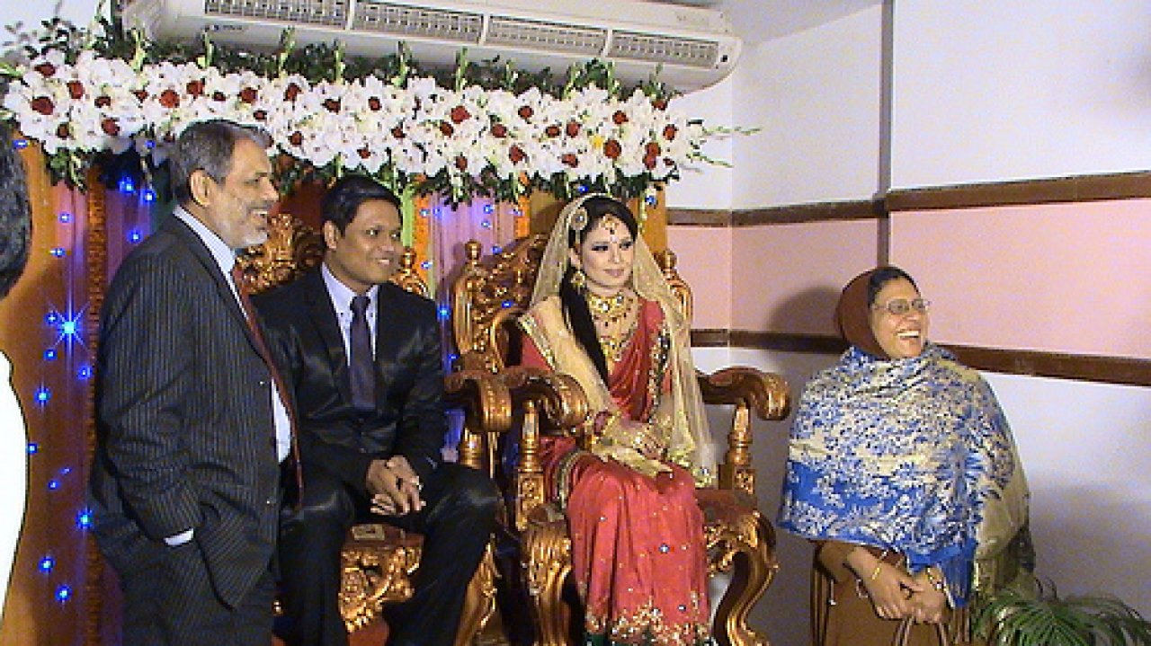 Wishing The Newly Married Couple A Happy Conjugal Life