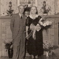 Great Grandpa & Grandma Wren