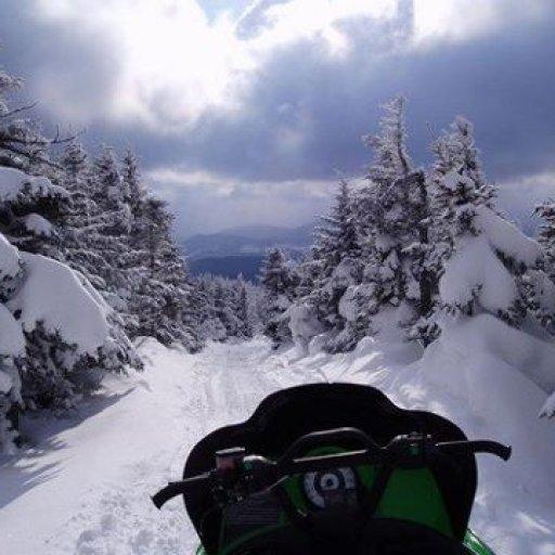 sled trail pic