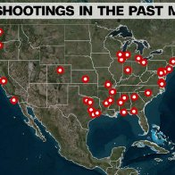 A stunning visualization of America's mass shooting problem