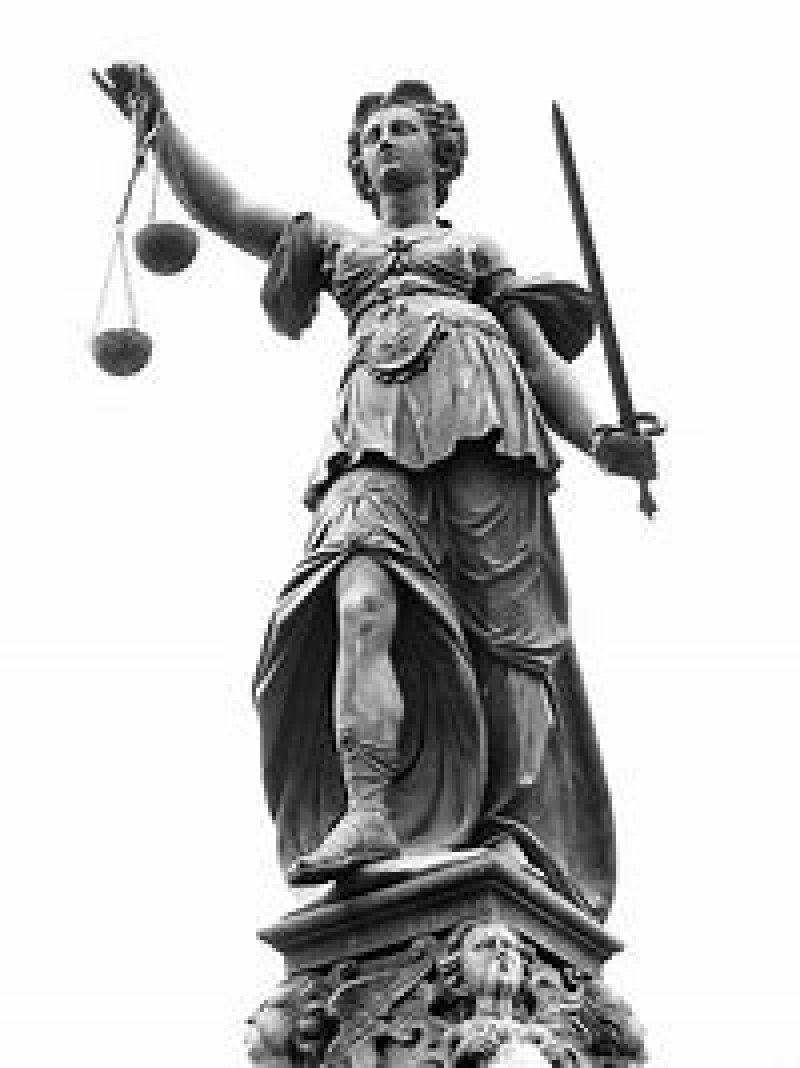 The wheels of justice of justice turn slowly, but grind exeedingly fine