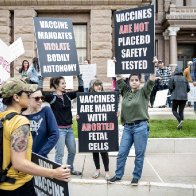 Conservative hostility to Biden vaccine push surges with Covid cases on the rise
