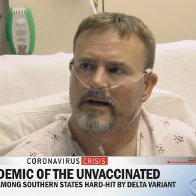 A man hospitalized with COVID-19 told CBS he'd still rather be sick than get a shot - and it shows how hard it'll be to convince everyone to get vaccinated