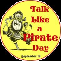It's Talk Like a Pirate Day!