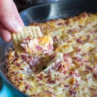 Crock Pot Hot Reuben dip