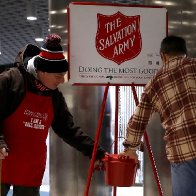 The left hates The Salvation Army. That's all you need to know about the left.