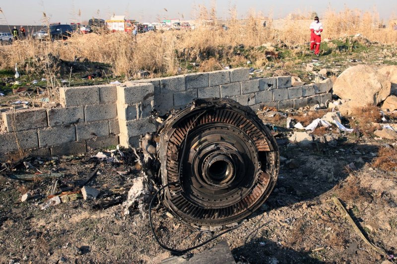 Ukraine plane may have been shot down by Iranian missile, report claims