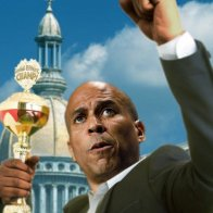 Cory Booker Moved To Tears During Participation Trophy Acceptance Speech