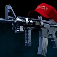 New, Deadlier AR-16 Introduced Which Is An AR-15 Wearing A MAGA Hat