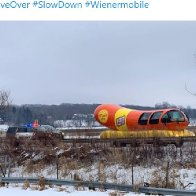 Weinermobile gets pulled over and fans relish the jokes!
