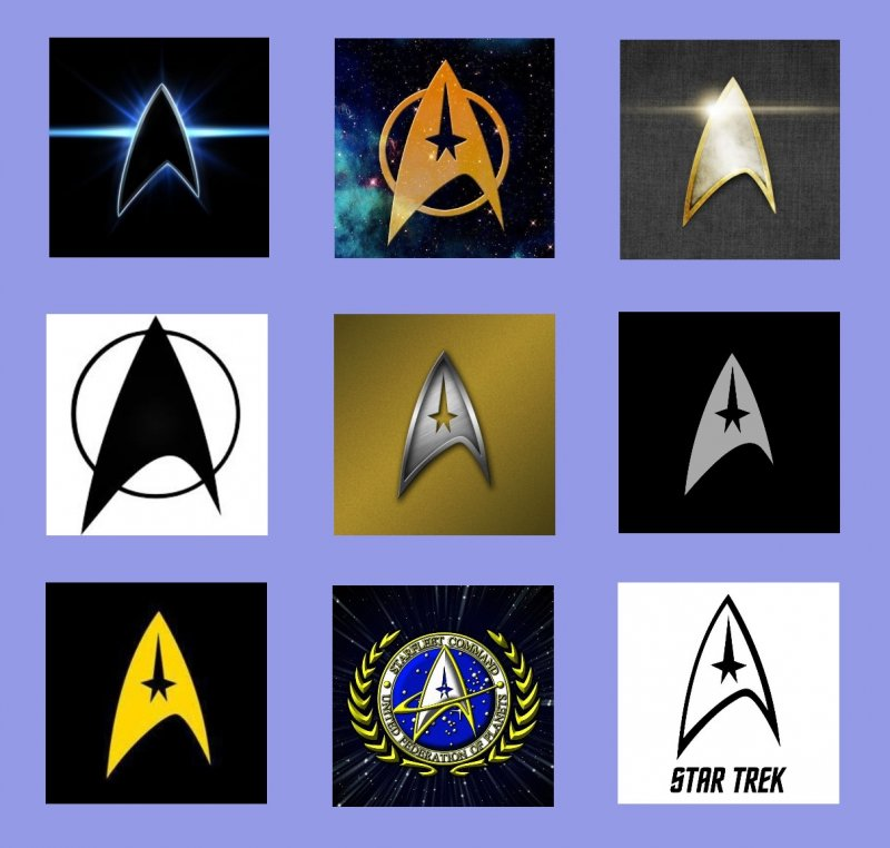 Star Trek Group Logo Roundup
