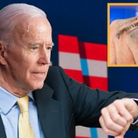 Politics  Disaster At Rally As Biden Smudges Note On Hand Reading, 'You Are Joe Biden And You Are Running For President'
