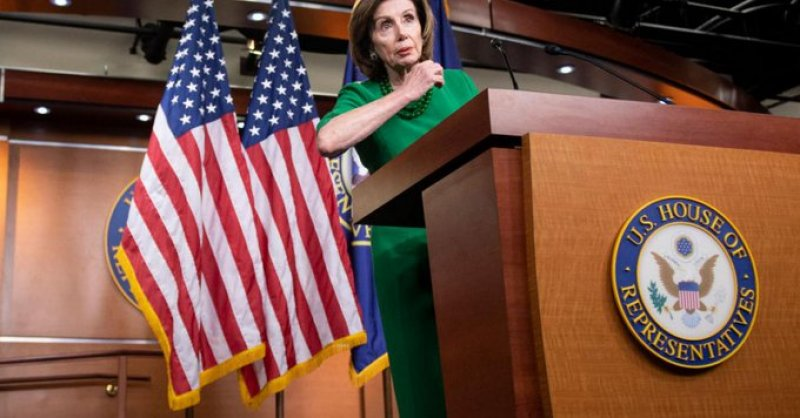 Pelosi delays her coronavirus bill, says will try to pass Senate's without most members present
