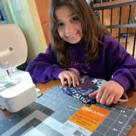 Mask-making 4th grader finds inspiration from public servants in her family