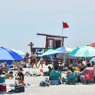Returning beachgoers left 13,000 pounds of trash on Florida's Cocoa Beach, prompting crackdown