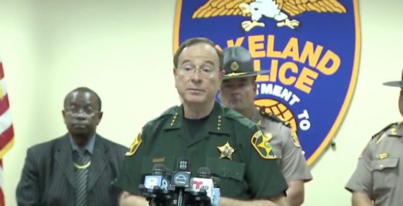 Polk County Sheriff Warns Rioters: Don't Take This into Neighborhoods. People Own Guns Here.