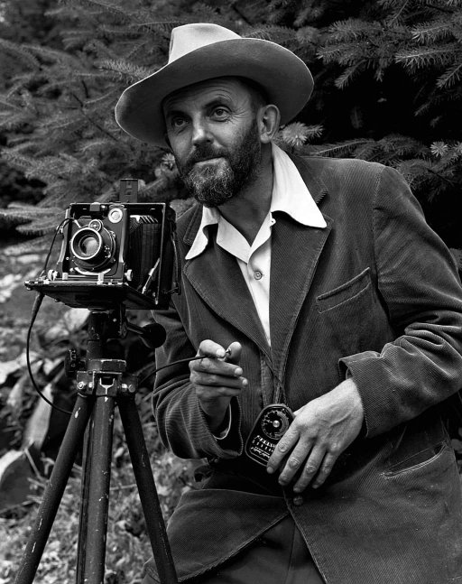 Ansel Easton Adams Was An American Photographer And Environmentalist His Black White Landscape Photographs Of The West Especially Yosemite