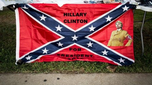 Hillary Clinton For President Confederate Flag Plus Nazi edited.jpg