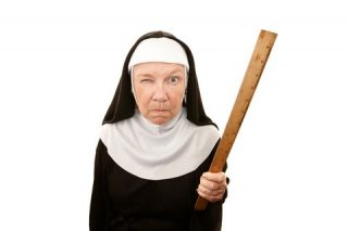 Nun with Ruler dreamstime_12895823.jpg