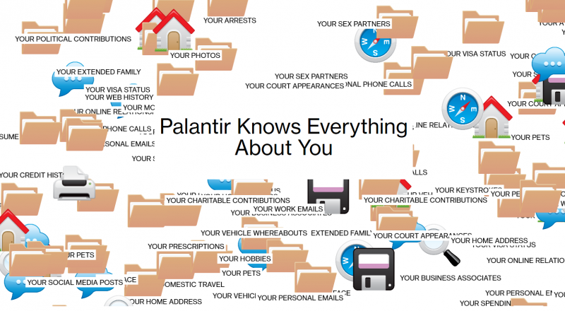 Palantir Knows Everything About You - Community | The NewsTalkers