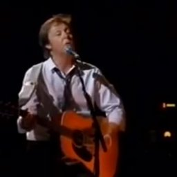 Paul McCartney Gets Emotional - Here Today