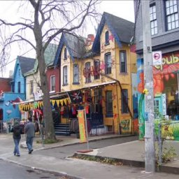 Kensington Market - Girl is young