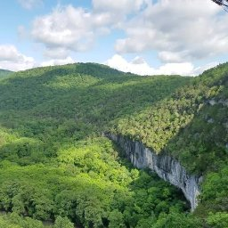The Big Bluff and Goat Trail (off of Centerpoint)